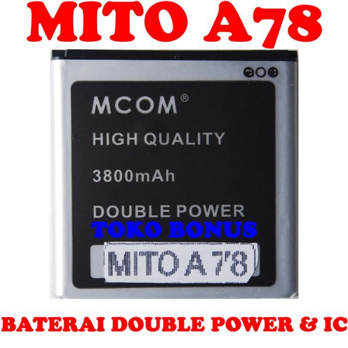 Baterai mito a78 double power m com