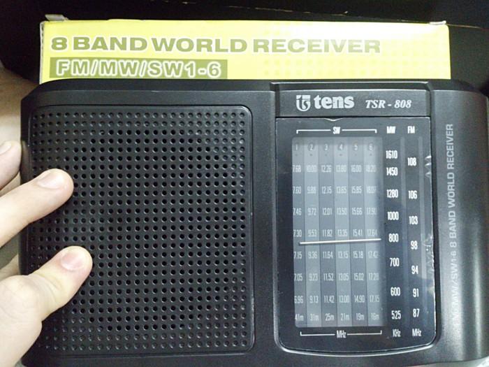 ... Radio Tens TSR 808