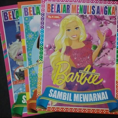 Jual Buku Pintar Dan Mewarnai Untuk Anak Perempuan Hero Stationery