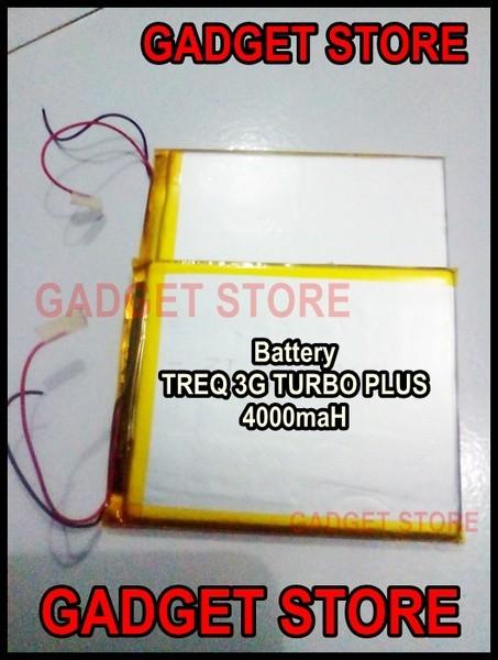 harga Baterai khusus untuk  tablet treq 3g turbo plus  ,7  inch  4000mah Tokopedia.com