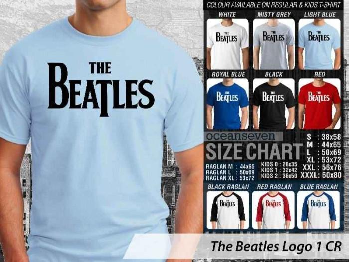harga Kaos distro oceanseven - the beatles logo Tokopedia.com