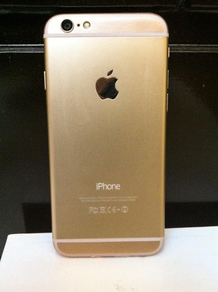 Jual iPhone 6 Gold (ori iOS) 16Gb 8a7ac6066d
