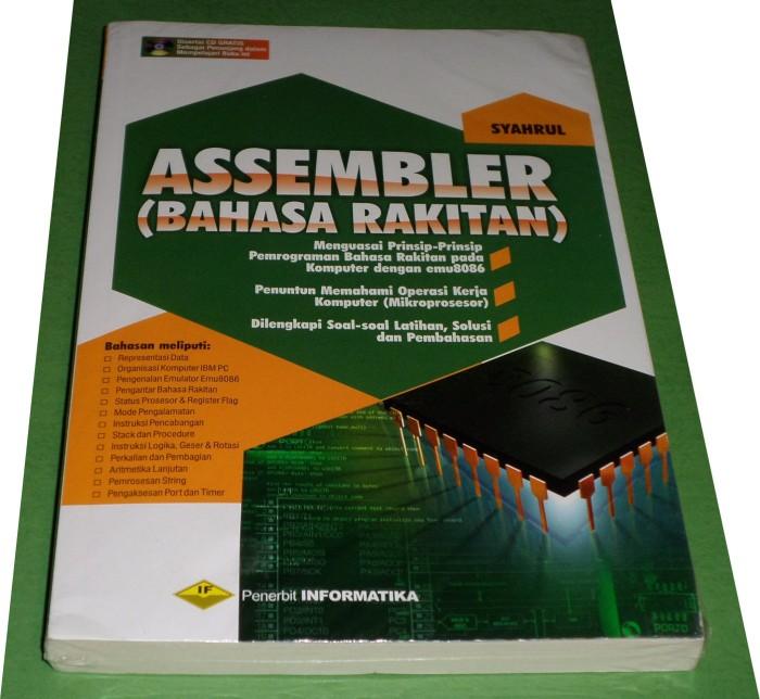 harga Buku assembly / assembler (bahasa rakitan) - syahrul Tokopedia.com