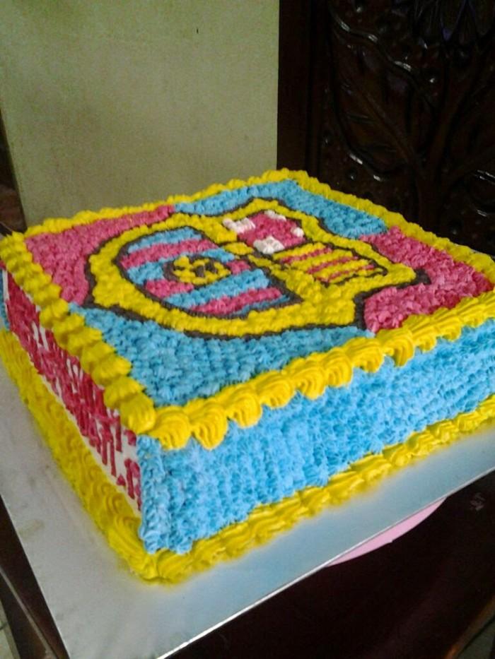 Jual Kue Ulang Tahun Barcelona Jakarta Timur Fyacake Tokopedia