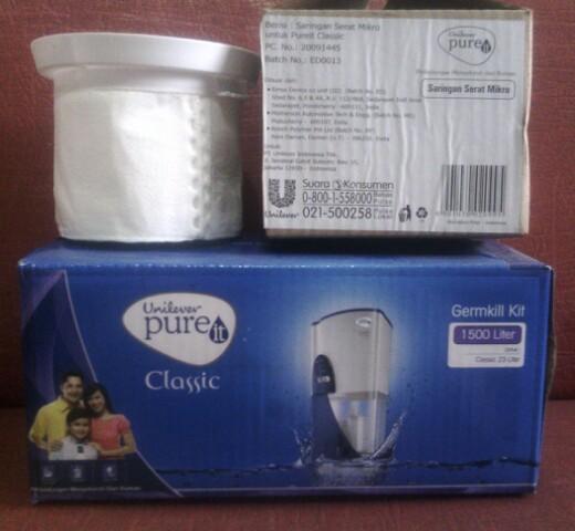 harga Paket saringan unilever pureit pure it  gkk + mfm saringan mikro Tokopedia.com