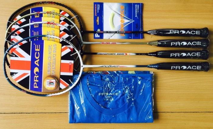 harga Raket badminton proace sniper 3000 Tokopedia.com