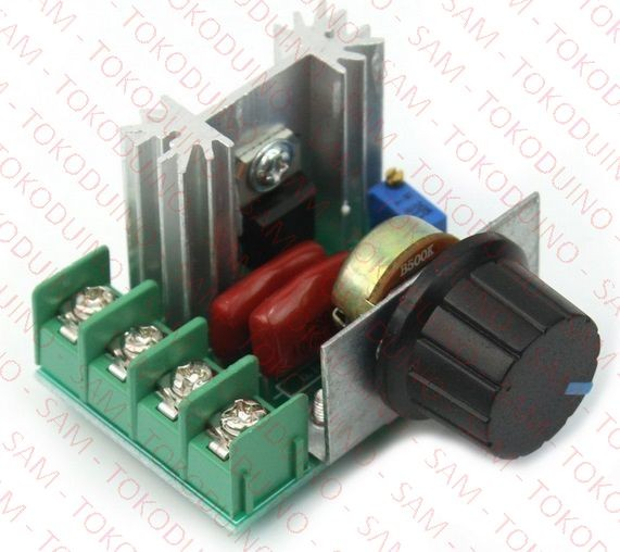 harga 2kw/16a ac controller / dimmer utk motor ac heater lampu dll Tokopedia.com