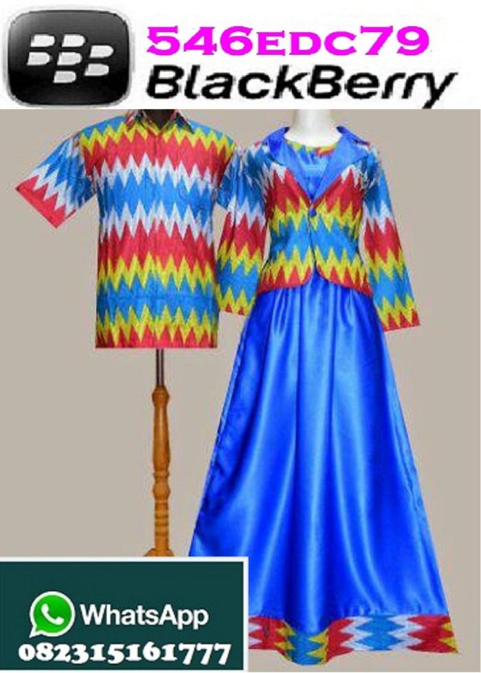 Jual Couple Gamis Batik Rangrang Rainbow Purple Angel Shop Tokopedia
