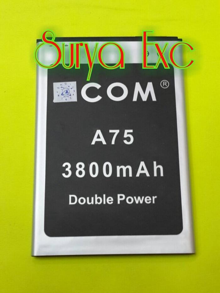 Baterai mito a75 fantasy 2 ba-00064 double power 3800mah