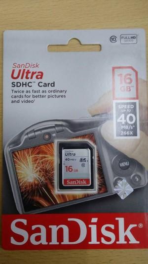 harga Sandisk ultra sdhc card 16gb class10 Tokopedia.com