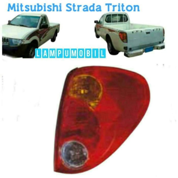 harga Lampu belakang mitsubishi strada triton 2008-2013 merk depo Tokopedia.com