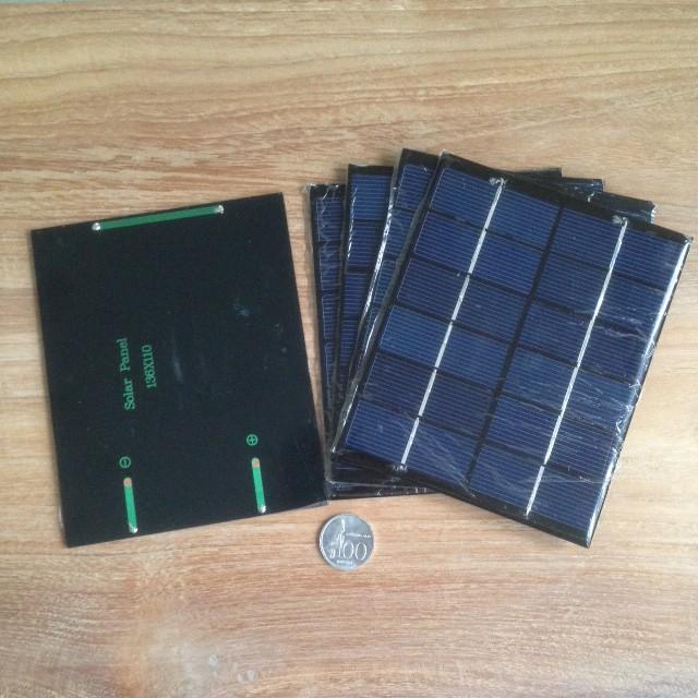 harga Solar panel 2w 6v mini monocrystalline polycrystalline Tokopedia.com