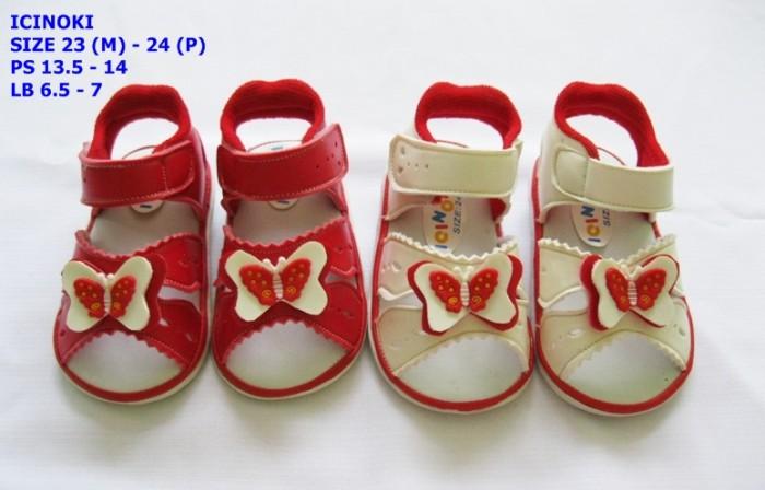 harga Sepatu anak perempuan icinoki kupu - kupu Tokopedia.com