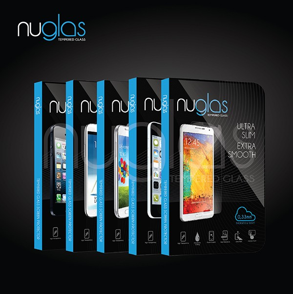 harga Nuglas tempered glass samsung galaxy s4/s5//note 2/3/4 anti gores Tokopedia.com