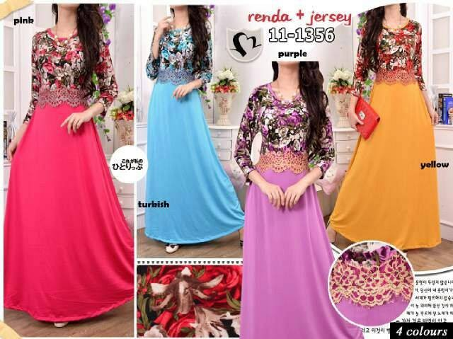 harga Dress 11-1356 brukat Tokopedia.com