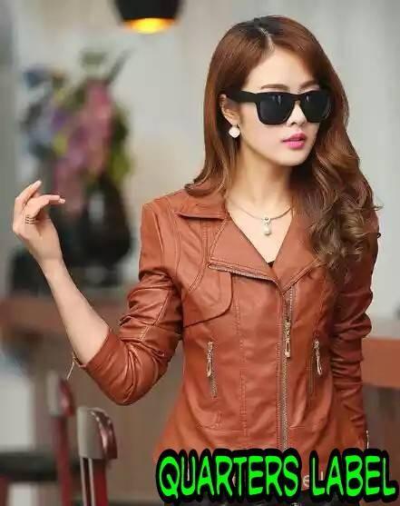 harga Jacket semi kulit sintetis brown Tokopedia.com