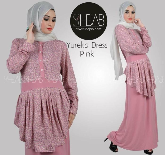 Jual Yureka Dress Dress Cantik Muslim Gamis Unik Branded Baju Muslim