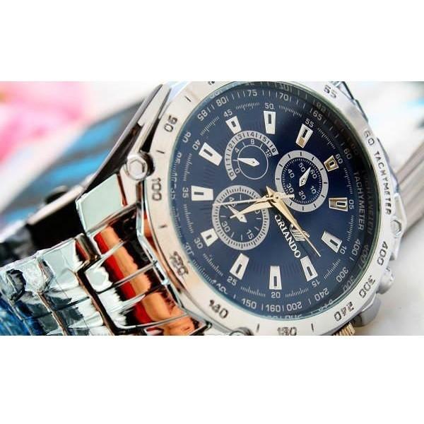 Jual Jam Tangan Orlando Stainless Steel Band Quartz Watch with Tachymeter -  Kota Tangerang Selatan - Zumla | Tokopedia