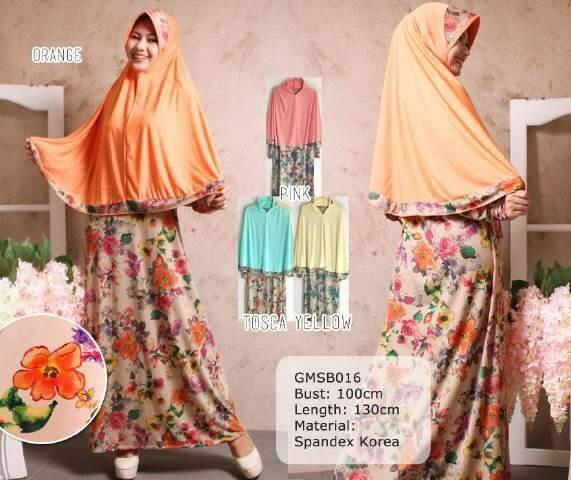 Jual Baju Muslim + Hijab Cantik Bursa Tanah Abang BM7377 - Tidak ... 433172c74b