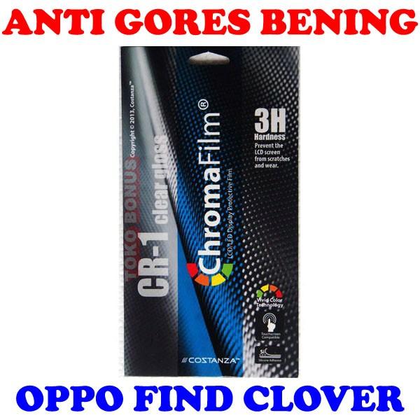 harga Antigores oppo find clover bening costanza anti gores clear gloss cr 1 Tokopedia.com