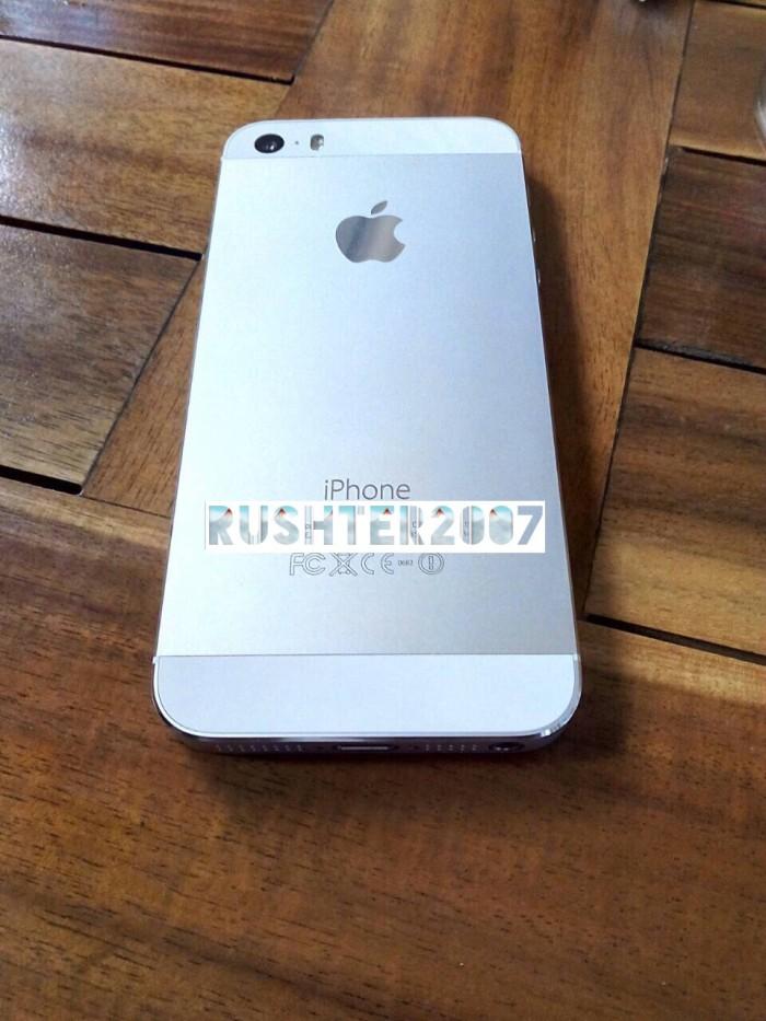 Jual iPhone 5S 16gb FU Batangan Silver (BU) - RushTer2007 Kaskus ... 2baadfd71b