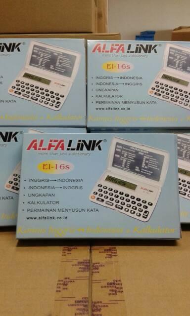 kamus electronik Alfalink kamus elektronik EI-16S