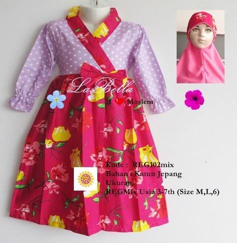Jual Gamis Anak Model Kimono 7 8th Tinkzi Collection