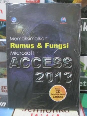 harga Memaksimalkan rumus dan fungsi microsoft access 2013 Tokopedia.com