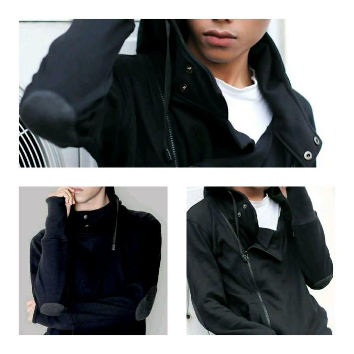 harga Jaket harakiri elbow black - jaket korea pria jaket jepang keren  Tokopedia.com 34b1194ae6