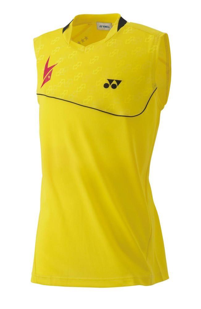 harga Kaos badminton yonex-10000ldex lindan 2015 tour (yellow) ltd Tokopedia.com