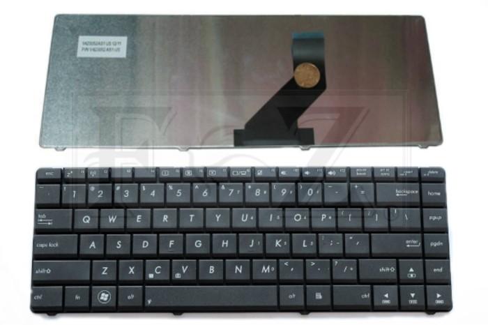 harga Keyboard asus k45dr k45de k45d / v423052as1, aexy1700010 (black) Tokopedia.com