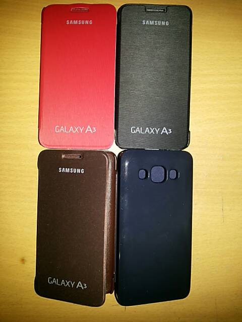 harga Flipcover samsung galaxy a3 / a300 ( flipcase, cover, case, casing ) Tokopedia.com