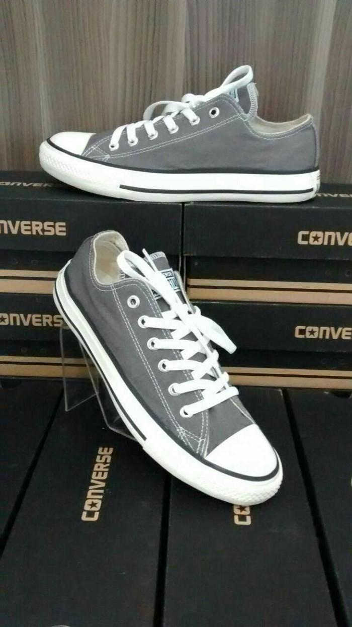 Jual sepatu converse allstar abu + box murah ! - sepatu murah ... 12fdb595c0