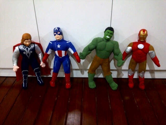 harga Boneka super hero avenger ( thor  hulk  captain america  ironman ) Tokopedia.com