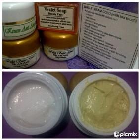 Jual Terbaik Cream Walet Gold Obat Penghilang Jerawat Komedo Flek