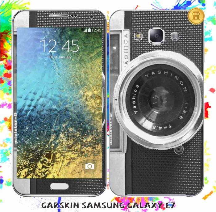 harga Garskin samsung e7 original - camera / custom Tokopedia.com