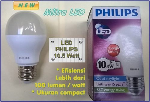 Jual Lampu LED Philips 105 Watt 10 Watt