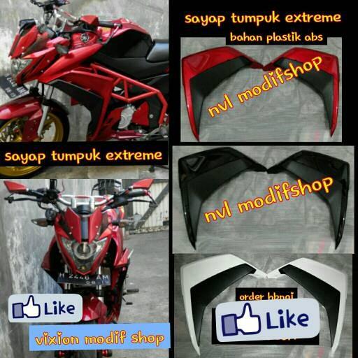 harga Sayap new vixion fighter sayap nvl extreme Tokopedia.com