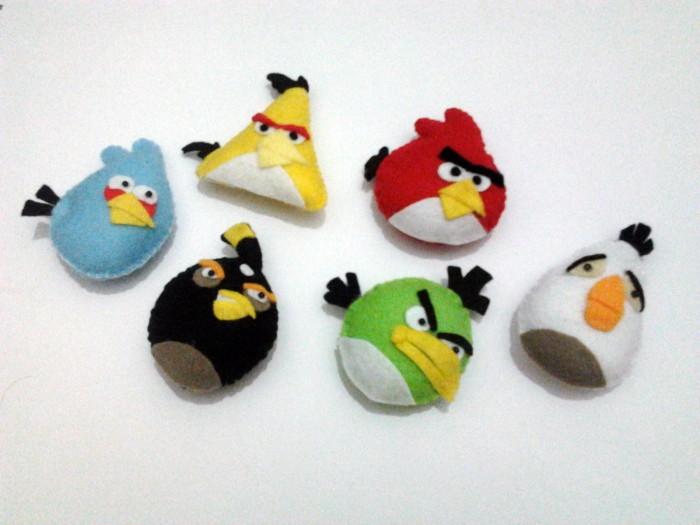 Jual Boneka Flanel Angry Birds Enam Karakter Kota Yogyakarta