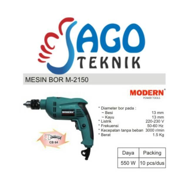 harga Mesin bor 13mm modern m 2150 / m2150 / m-2150 Tokopedia.com