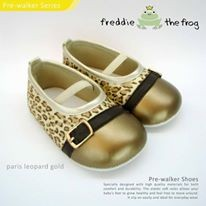 ... harga Sepatu bayi / prewalker shoes freddie the frog - paris gold no.4 &