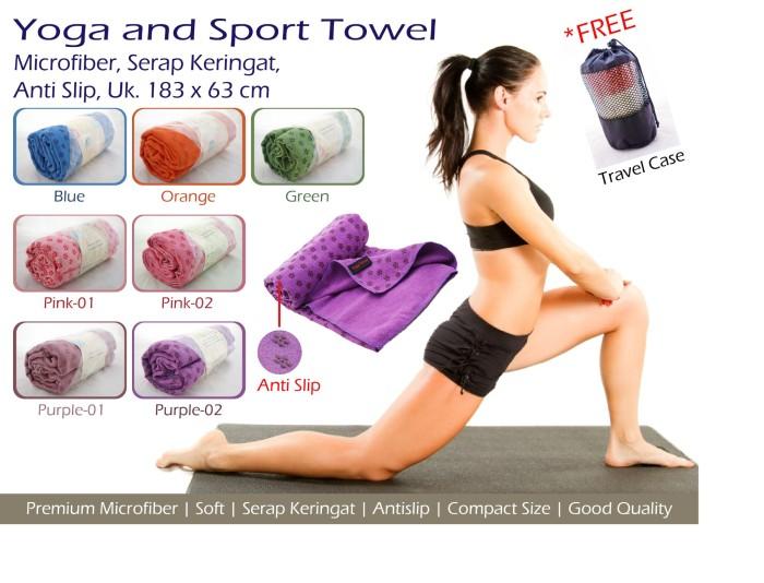 harga Handuk yoga yoga and sport towel dijamin murah dan berkualitas Tokopedia.com