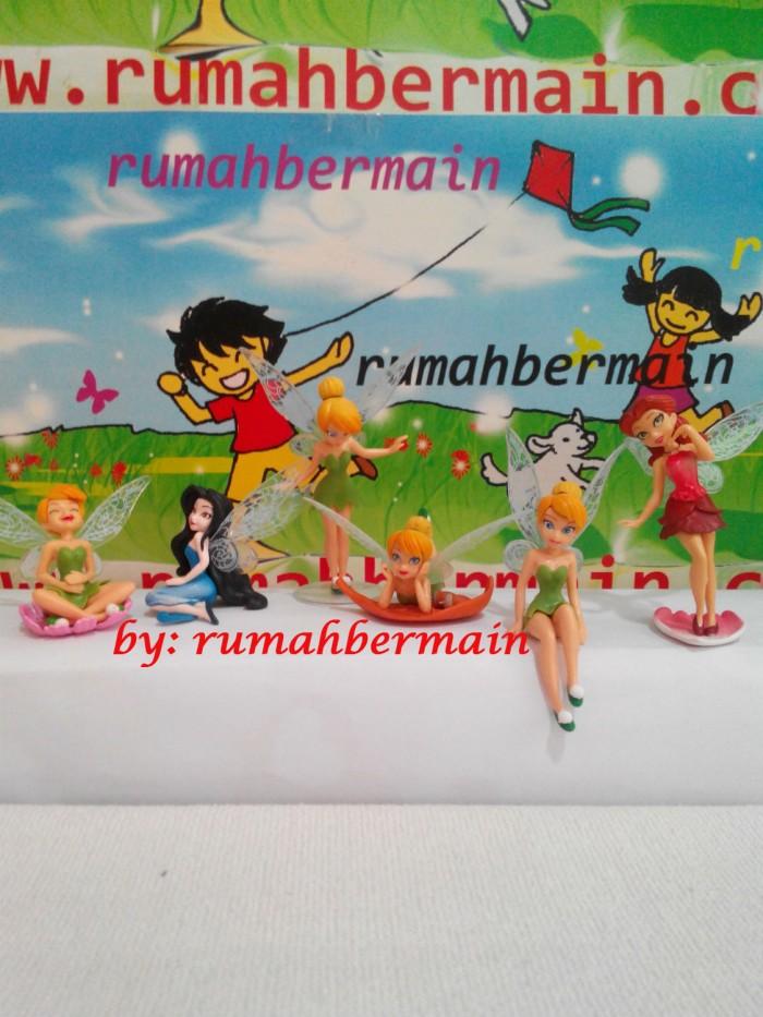 harga Miniatur tinkerbell (6 pcs) - pajangan action figure - hiasan kue Tokopedia.com