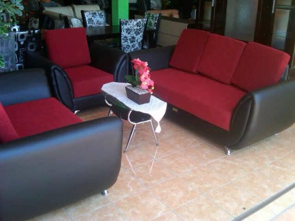 Jual Sofa Lavender 321 Merah Hitam Kota Semarang Permata