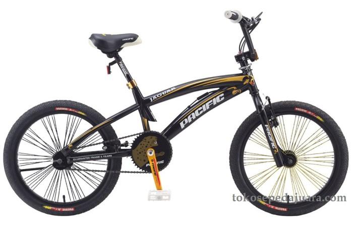 harga Pacific bmx 20  jaguar black (pb20 02 ht) Tokopedia.com