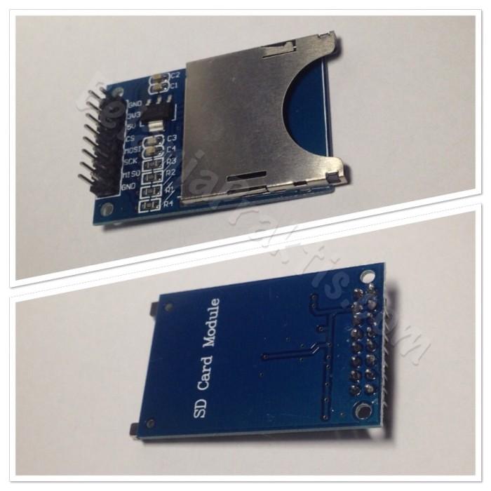 harga Sd card reader and writer module - baca tulis memory sd for arduino Tokopedia.com