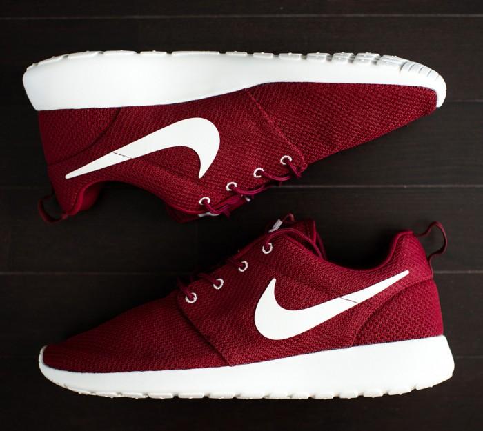competitive price 44dec 55eda Sepatu Nike Roshe Run KW Super (Warna Merah)