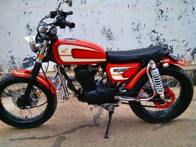 Jual Honda Cb 100 Modif Japstyle Antomayudi Tokopedia