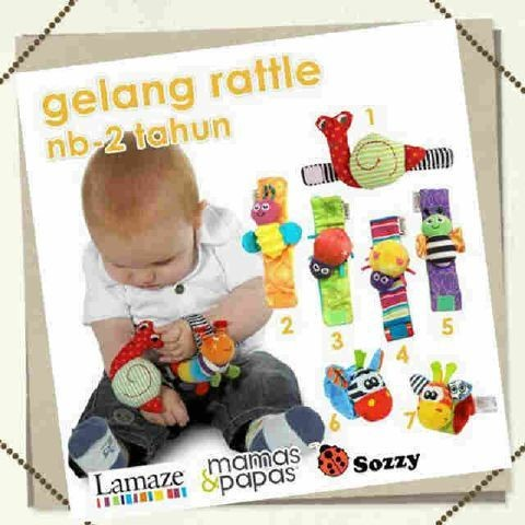 harga Gelang rattle bayi baby lamaze mainan kricik kain aman hiasan tangan Tokopedia.com