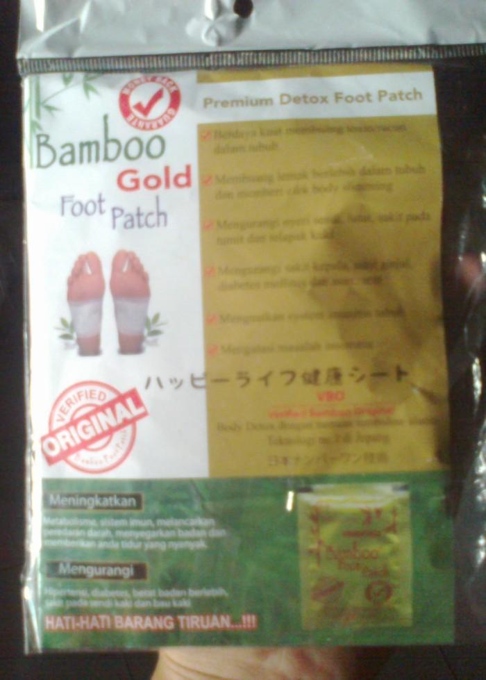Koyo Kaki Bamboo (Bamboo Foot Patch, Gold Premium Detox Foot Patch)